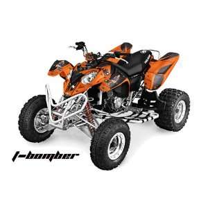 2002 2011 Polaris Predator 500 ATV Quad, Graphic Kit   TBomber Or