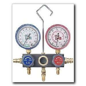 FJC Air Conditioning Products   R134a Aluminum Block Manifold Gauge