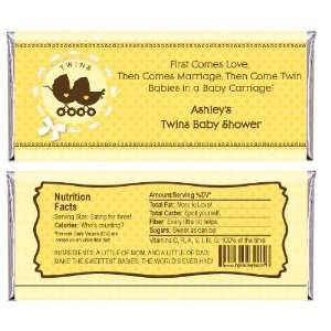 Baby Carriages   Personalized Candy Bar Wrapper Baby Shower Favors