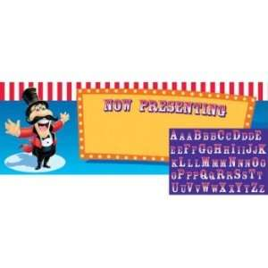 Creative Converting Giant Big Top Birthday Party Banner with Stickers
