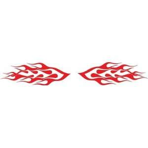 Flames Vinyl Decals Kit 6 Left and Right Car Truck Boat Pick Size And