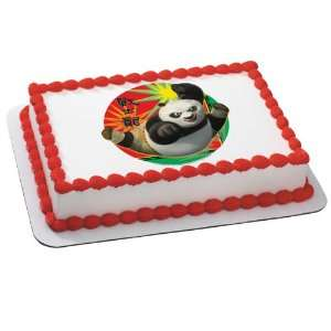 Party By Deco Pac Kung Fu Panda 2   Karate Po Edible Icing Cake Topper