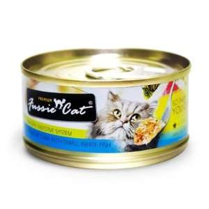 Small White Fish Canned Cat Food (24 Pack) [Set of 24]