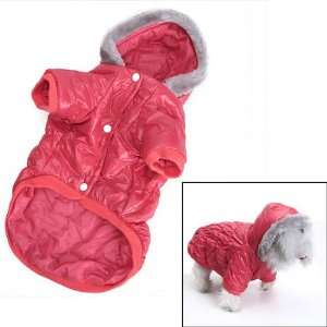 Pet Dog Hoodie Winter Puffy Coat Jacket   Size S
