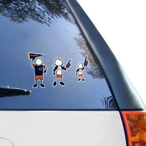 Chicago Bears 12 x 12 Family Car Decal Sheet