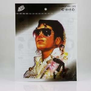 Michael Jackson Cloth Patch Sticker Decal for Clothes
