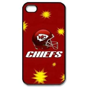 NFL Kansas City Chiefs iPhone 4/4s Fitted Case Chiefs logo