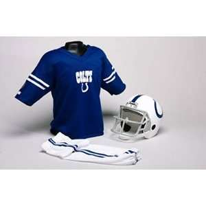 Colts Youth NFL Team Helmet and Uniform Set