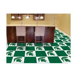 NCAA Michigan State Spartans CARPET TILES