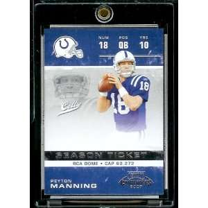 # 43 Peyton Manning   Indianapolis Colts   NFL Football Trading