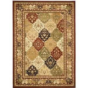 Safavieh Rugs Lyndhurst Collection LNH221B 8SQ Multi/Red 8