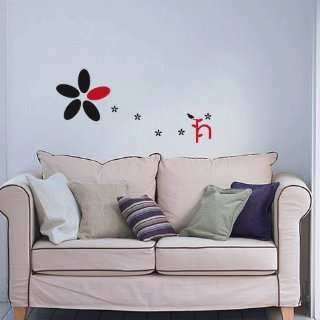 Flower&bird WALL DECOR DECAL MURAL STICKER REMOVABLE VINYL Automotive