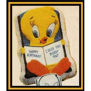 Wilton Tweety Bird and Book Cake Pan Mold (502 7687, 1978