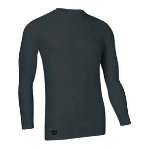Black Water Gear   Tight Fit Compression Long Sleeve Tee, X Large