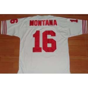 Joe Montana Jerseys? San Francisco 49ers #16 Joe Montana Throwback