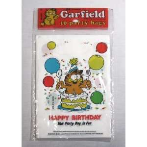 Vintage Garfield Birthday Party Bag Set