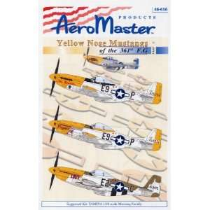 P 51 Yellow Nose Mustangs, Pt 2 361 Fighter Group (1/48