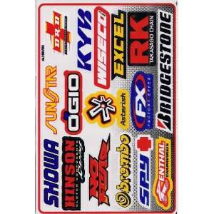 Supercross ATV DIRT Racing Graphic Sticker Decal ATV 1