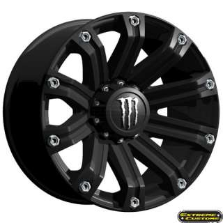 Wheels Ford F150 F250 F350 TIS M34 Matte Black 6 8 Lug Rims