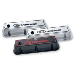 PROFORM 302 002 Ford Racing Aluminum Valve Covers Chrome Automotive