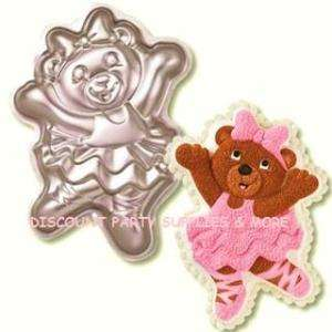 Teddy Bear Ballerina Cake Pan by Wilton