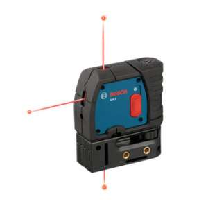 Bosch 3 Point Self Leveling Alignment Laser GPL3 RT 000346407891
