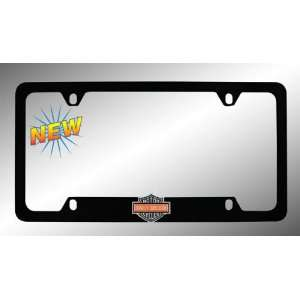 Harley Davidson Car Truck SUV License Plate Frame Black Metal   Harley