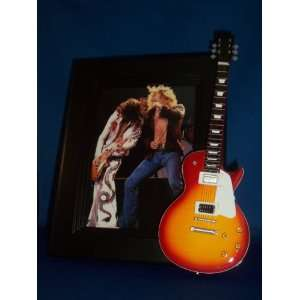 LED ZEPPELIN JIMMY PAGE ROBERT PLANT Mini Guitar PICTURE