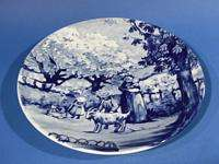d959 Vintage Royal Delft Wall Plate Westraven MAY